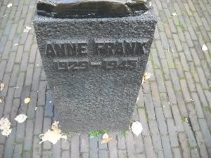 And the Anne Frank House monument thingy.